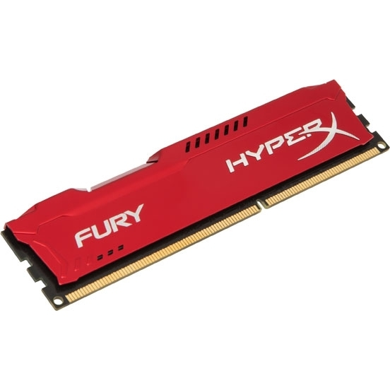 Модуль памяти Kingston HyperX Fury Red DDR3 DIMM 1333MHz PC3-10600 CL9 - 4Gb HX313C9FR/4 цена