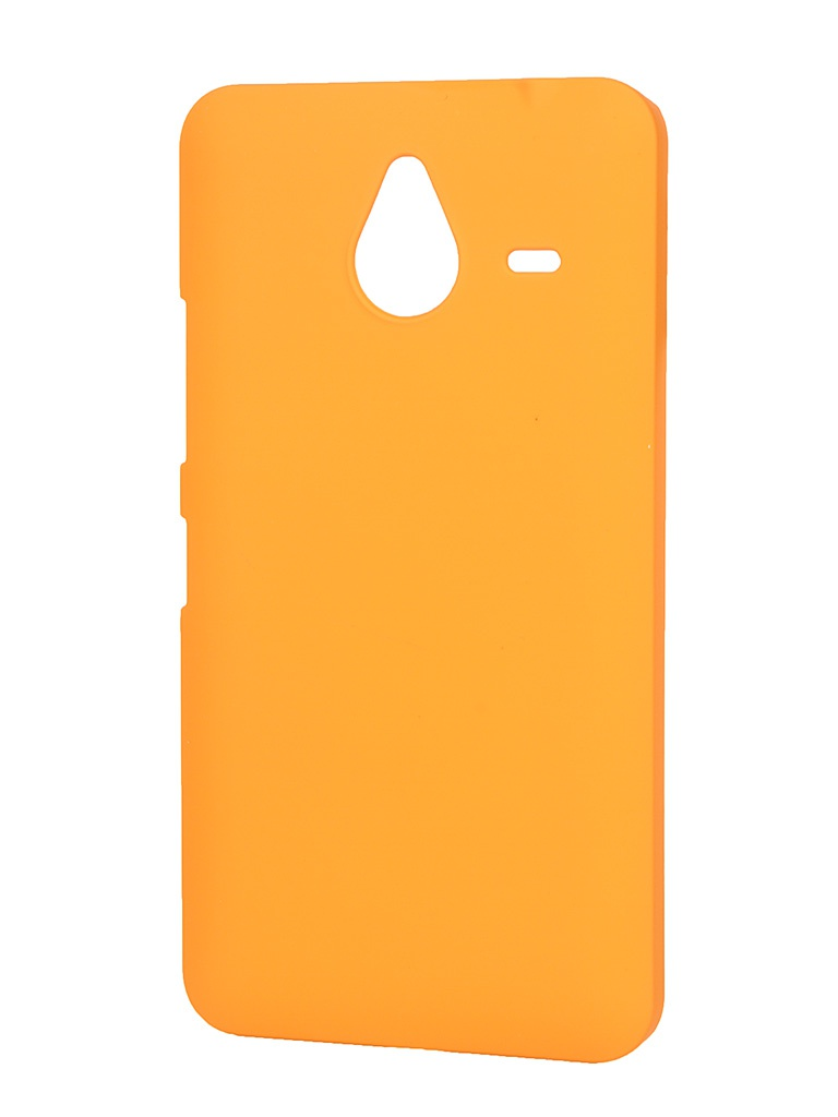 Аксессуар Чехол-накладка Microsoft Lumia 640 XL Pulsar Clipcase PC Soft-Touch Orange PCC0080