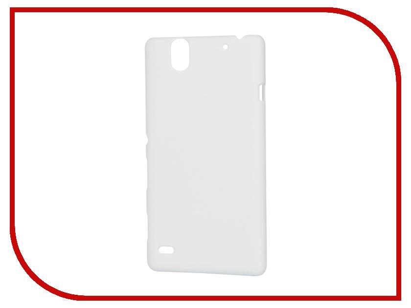 Аксессуар Чехол-накладка Sony C4 Pulsar Clipcase PC Soft-Touch White PCC0090<br>