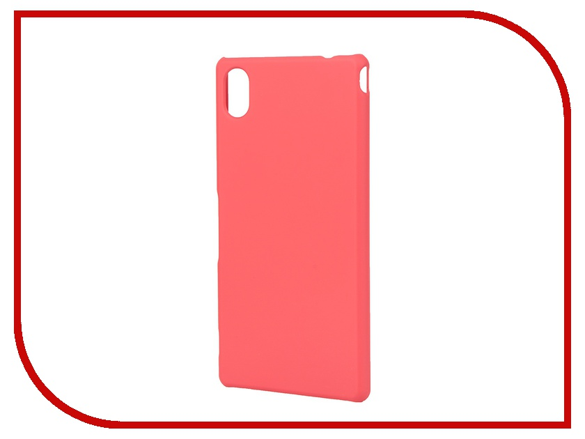 Аксессуар Чехол-накладка Sony M4 Pulsar Clipcase PC Soft-Touch Red PCC0115<br>
