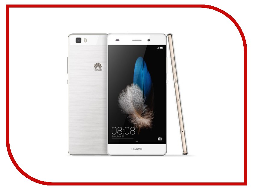 Сотовый телефон Huawei P8 Lite White<br>
