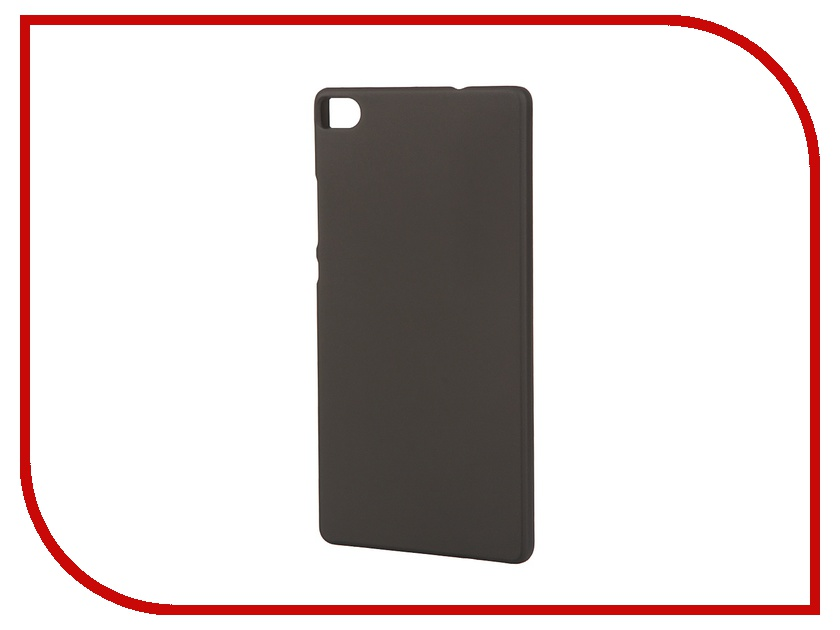 Аксессуар Чехол-накладка Huawei P8 Pulsar Clipcase PC Soft-Touch Black PCC0099<br>