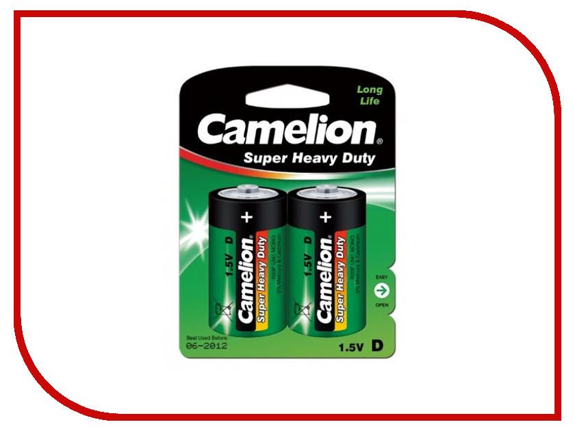 Батарейка D - Camelion R20 Green R20P-BP2G (2 штуки)<br>