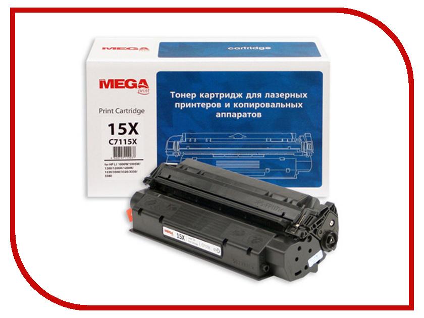 Картридж ProMega Print C7115X для HP LJ 1200/1220 Black<br>