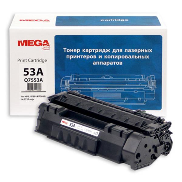 Аксессуар ProMega Print Q7553A для HP LJ P2014/P2015/M2727 Black