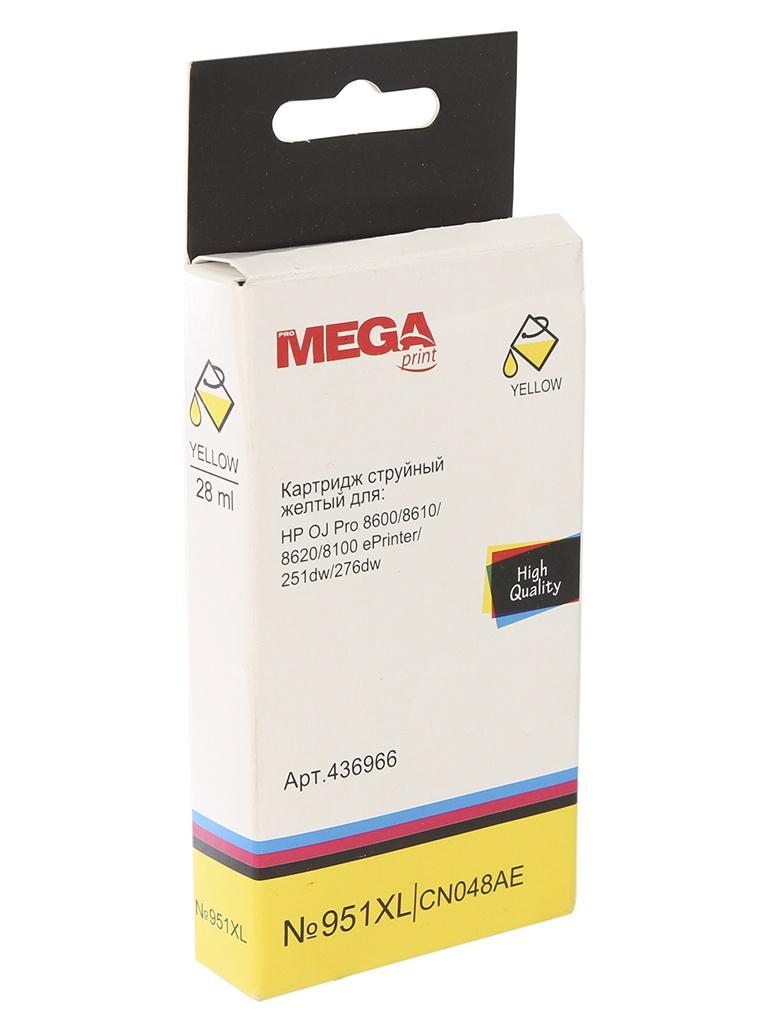 Аксессуар ProMega 951XL CN048AE для HP OJ Pro 8600 Yellow