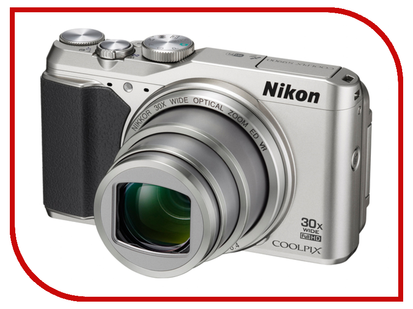 Фотоаппарат Nikon S9900 Coolpix Silver