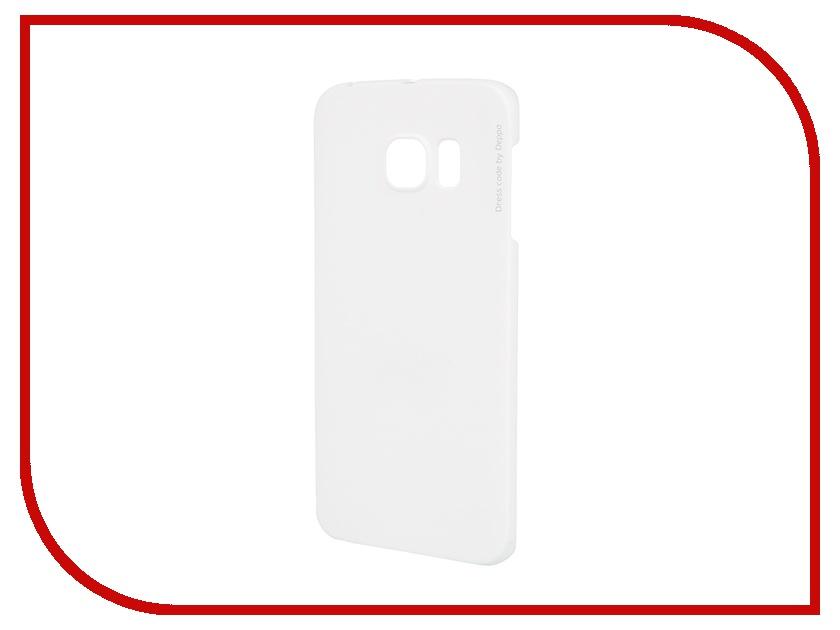 ��������� ����� Deppa for Samsung Galaxy S6 Edge Air Case + �������� ������ White 83182