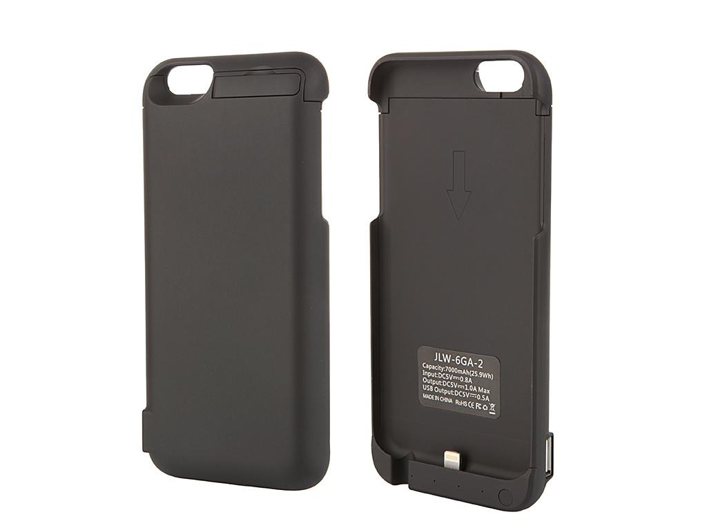 Аксессуар Чехол-аккумулятор Aksberry 6GA-2 7000 mAh для iPhone 6 Black