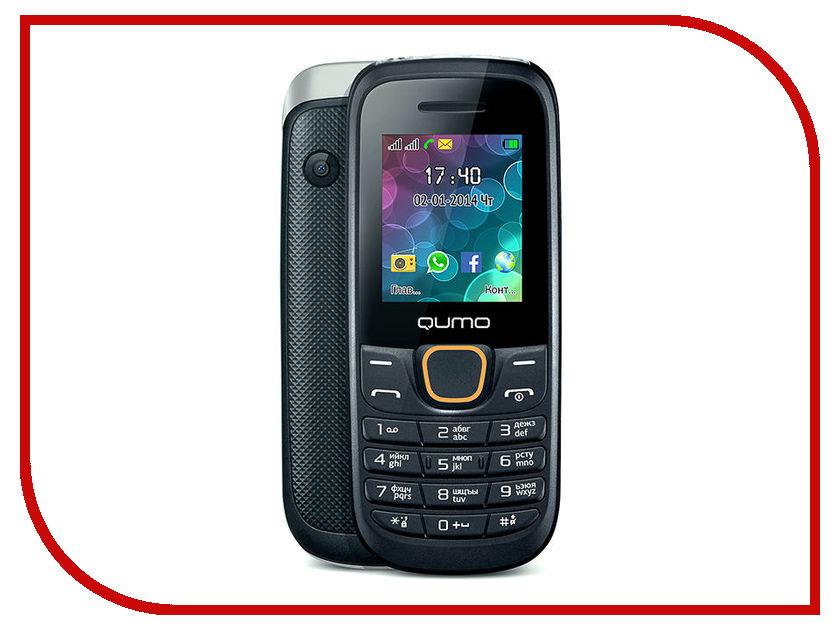 Сотовый телефон Qumo Push 184GPRS Black