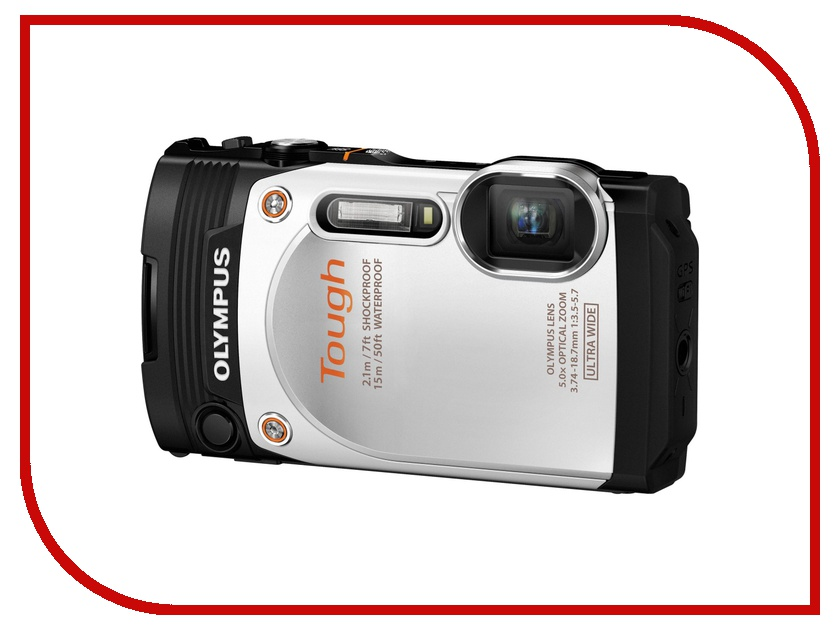 Фотоаппарат Olympus TG-860 Tough White<br>