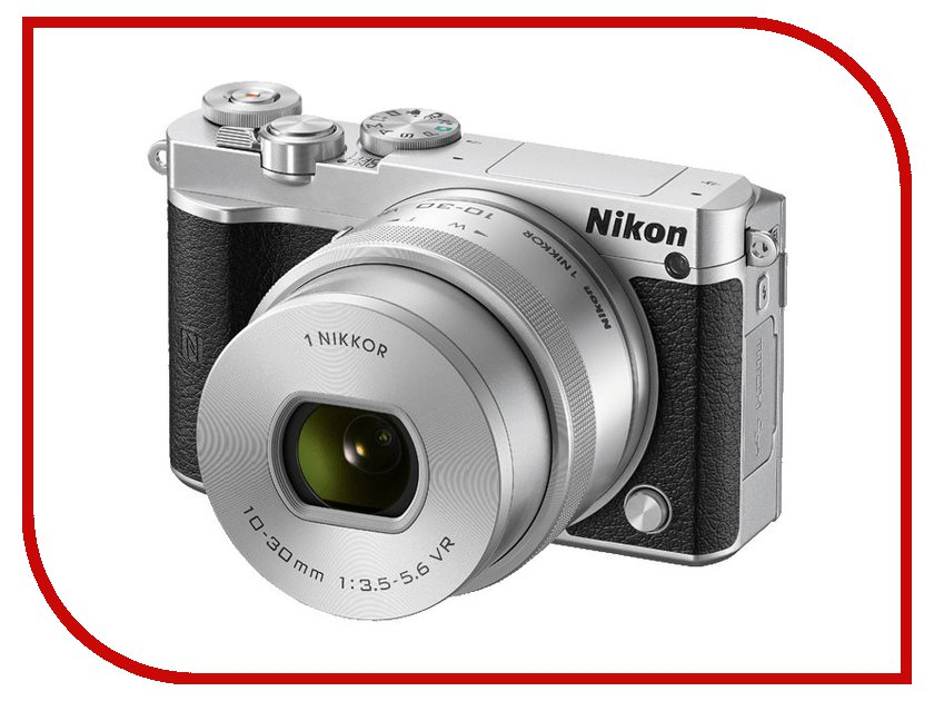 Фотоаппарат Nikon 1 J5 Kit 10-30 mm F/3.5-5.6 VR PD-Zoom Silver<br>