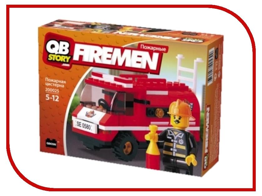 Конструктор QBStory Firemen Пожарная машина hti пожарная машина roadsterz