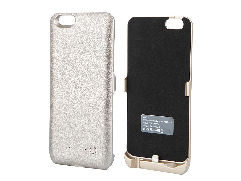 Аксессуар Чехол-аккумулятор Aksberry I6 4000 mAh для iPhone 6 Gold