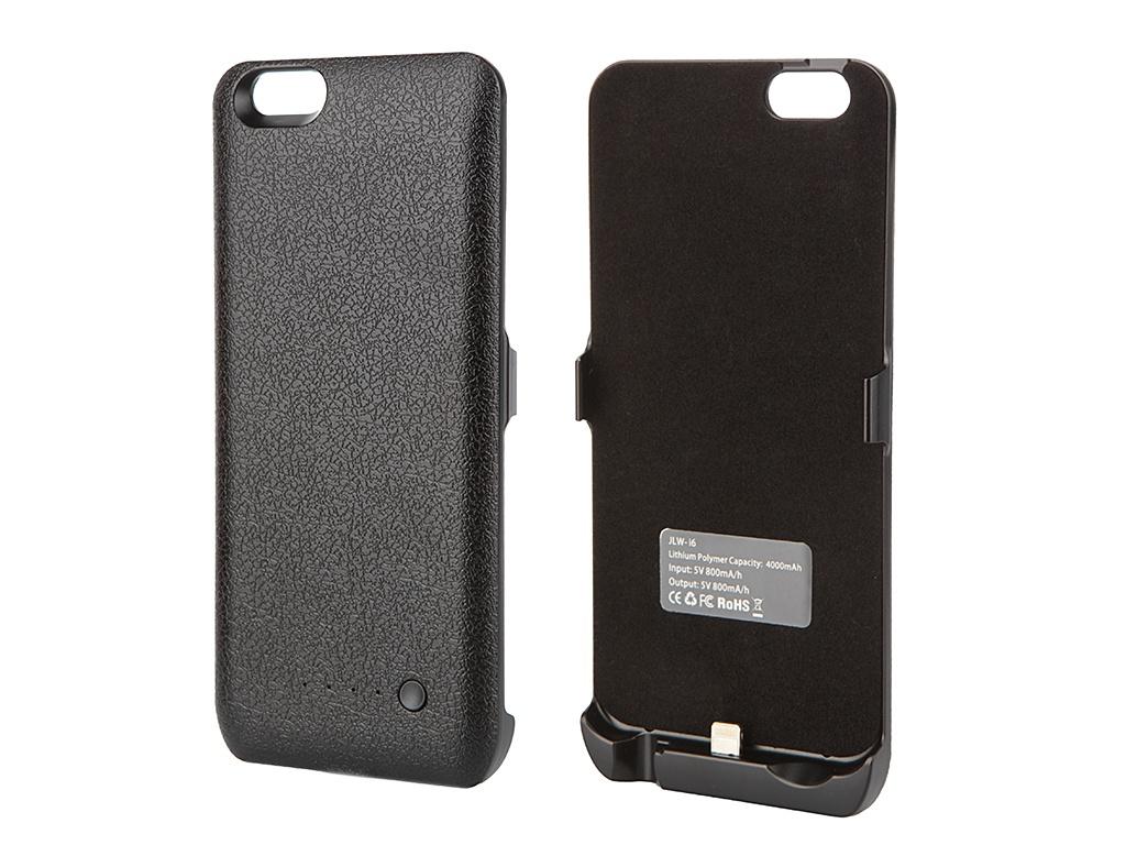 Аксессуар Чехол-аккумулятор Aksberry I6 4000 mAh для iPhone 6 Black