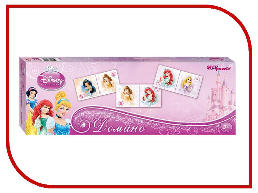 Настольная игра Step Puzzle Домино Disney Принцессы 80114