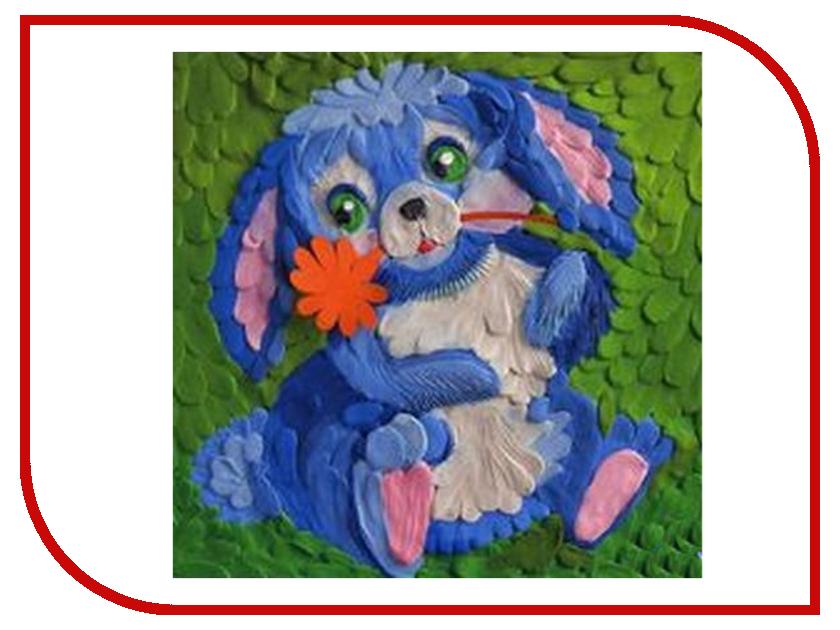 Набор для лепки Фантазер Картина из пластилина Зайчик