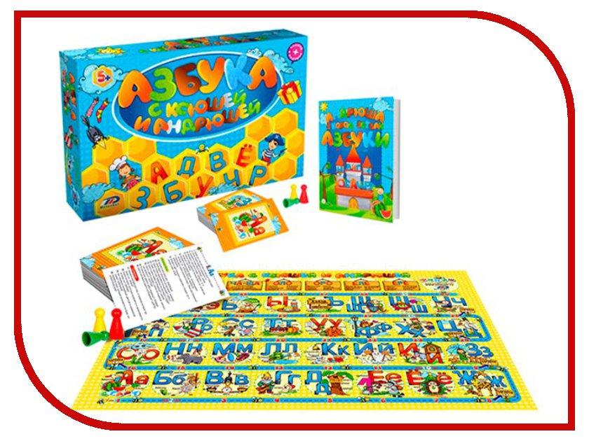 Настольная игра BrainBox Азбука с Ксюшей и Андрюшей brainbox brainbox игра сундучок знаний россия