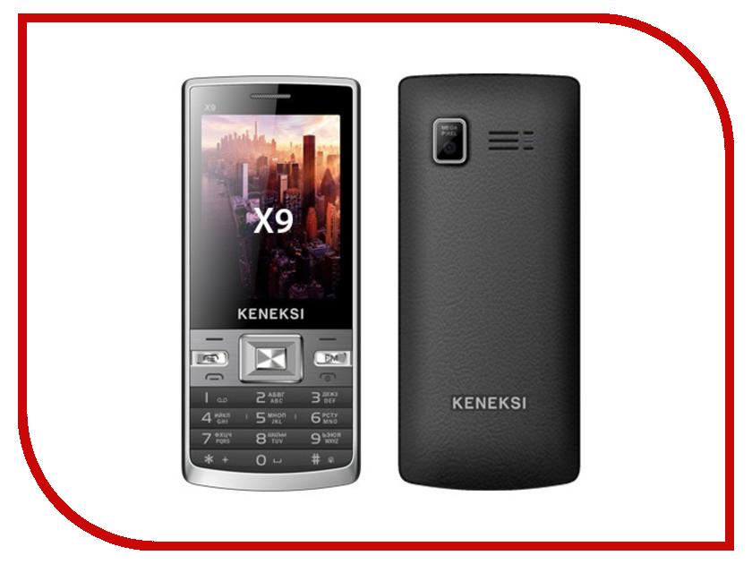 Сотовый телефон KENEKSI X9 Black