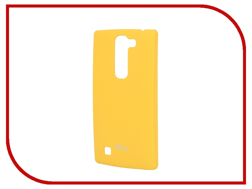 Аксессуар Чехол-накладка LG Magna SkinBox 4People Yellow T-S-LM-002 + защитная пленка skinbox 4people чехол для lg g3 stylus yellow