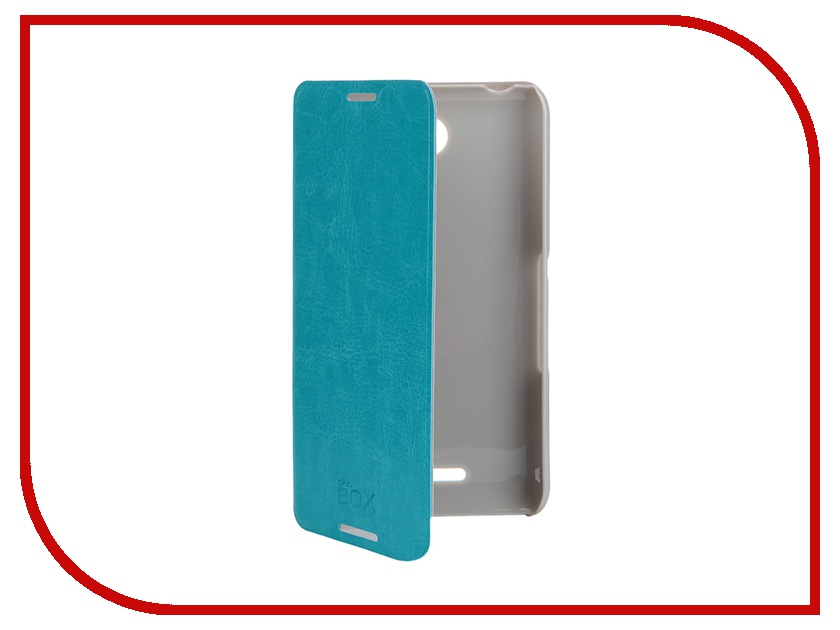��������� ����� Sony Xperia E4 SkinBox Lux Blue T-S-AXE4-003