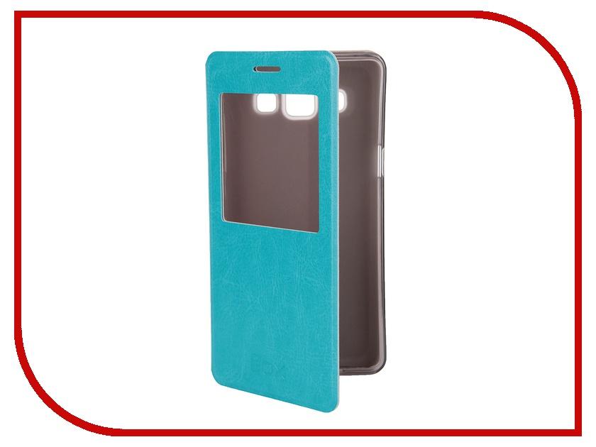 Аксессуар Чехол Samsung A500 Galaxy A5 SkinBox Lux AW Blue T-S-SA500-004<br>
