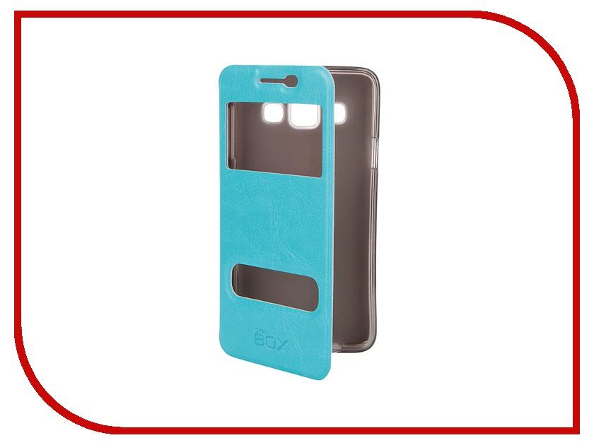 Аксессуар Чехол Samsung A300 Galaxy A3 SkinBox Lux AW Blue T-S-SA300-004<br>