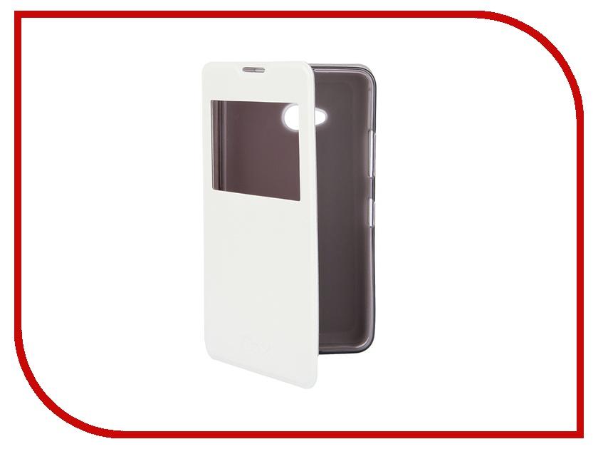Аксессуар Чехол Microsoft Lumia 640 SkinBox Lux AW White T-S-ML640-004<br>