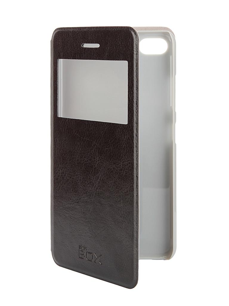 Аксессуар Чехол Lenovo S90 SkinBox Lux AW Black T-S-LS90-004 от Pleer