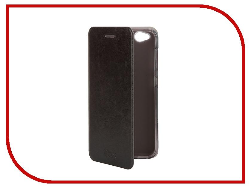 Аксессуар Чехол ZTE Blade S6 SkinBox Lux Black T-S-ZBS6-003<br>