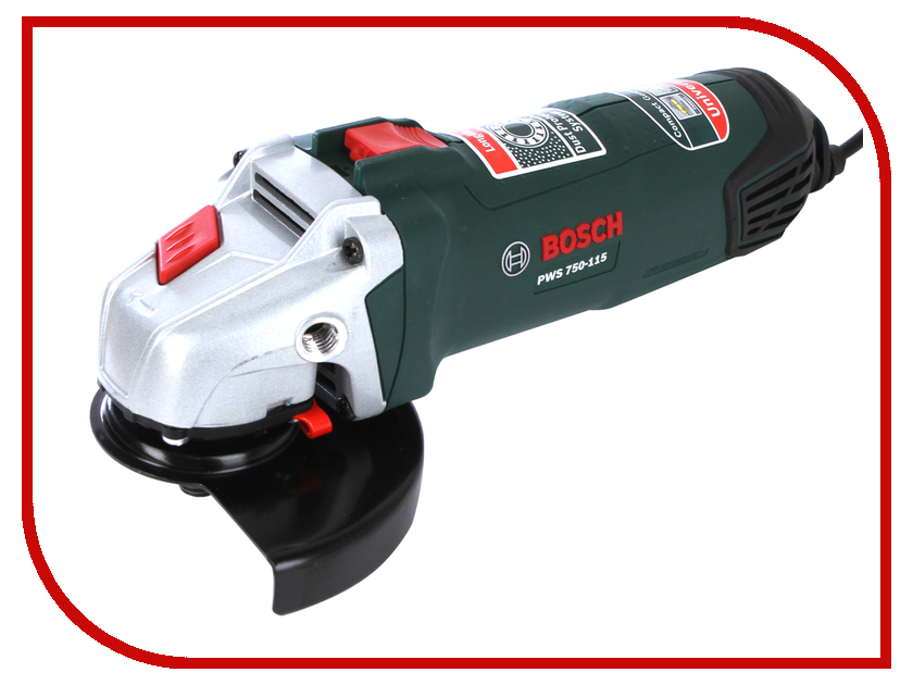 Шлифовальная машина Bosch PWS 750-115 06033A2420 bosch pws 750 125 06033 a 2422