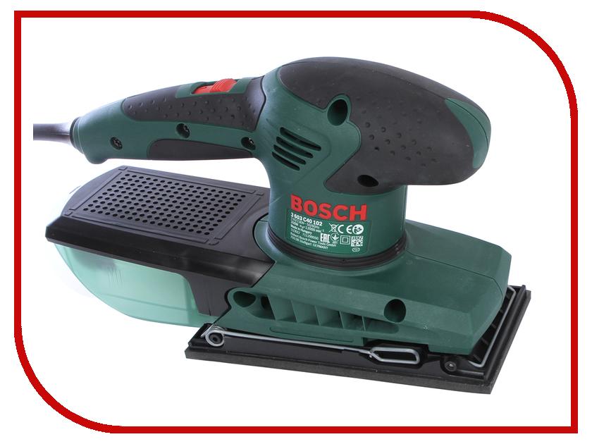 Шлифовальная машина Bosch PSS 200 AC 0603340120 вибрационная шлифовальная машина bosch pss 200 ac 0603340120