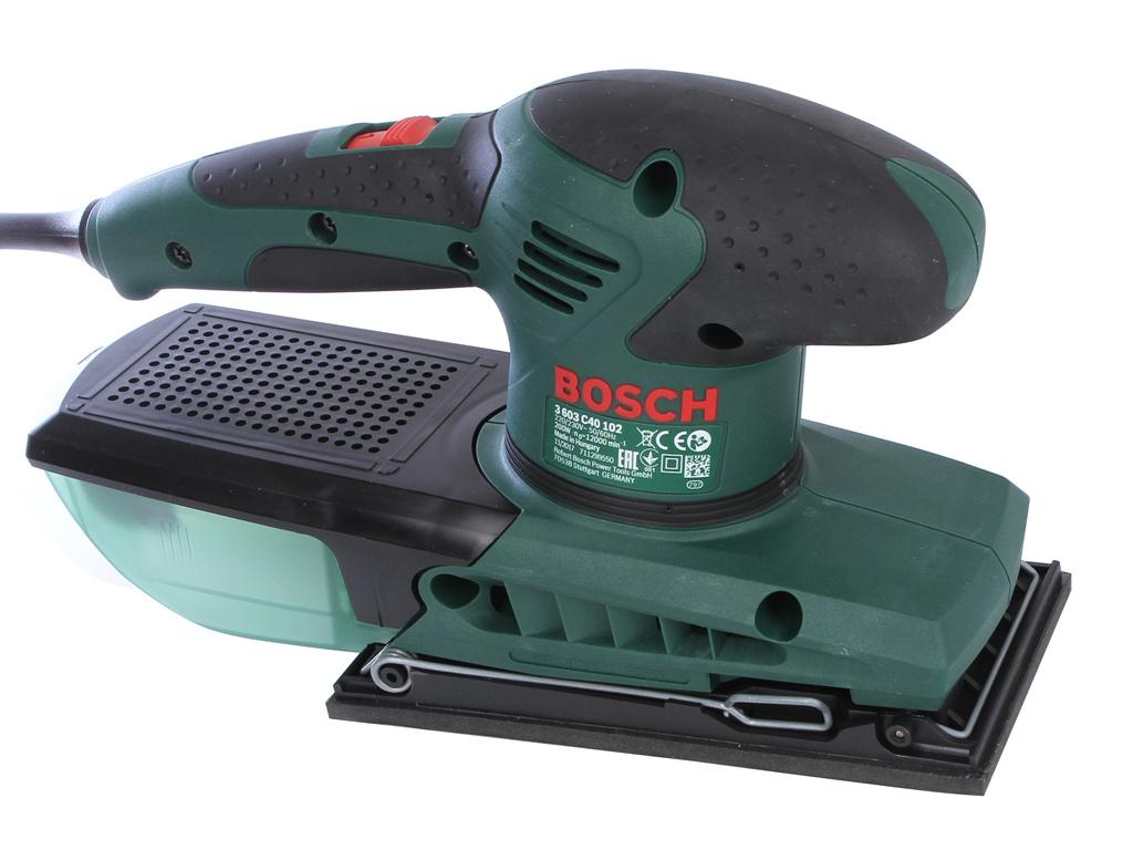 Фотография Шлифовальная машина Bosch PSS 200 AC 0603340120