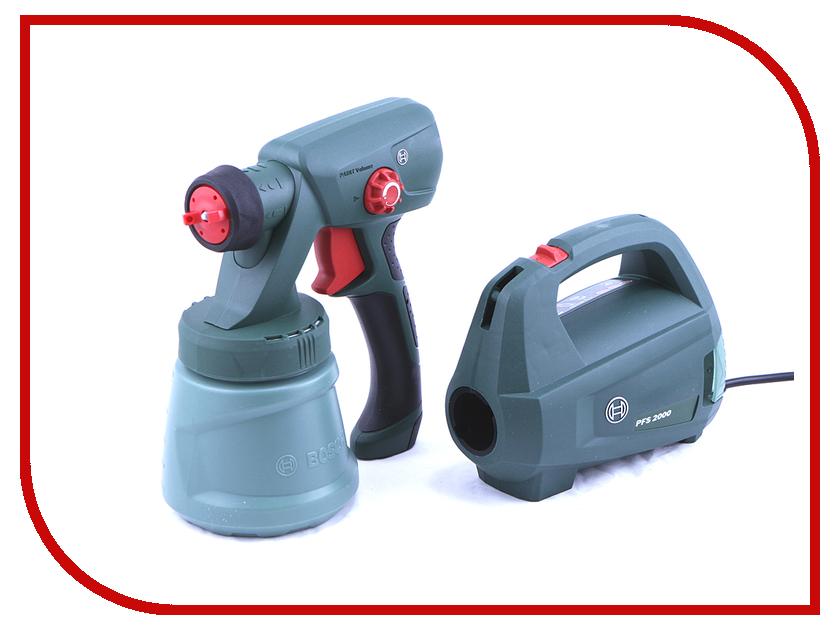 Краскораспылитель Bosch PFS 2000 0603207300 bosch pfs 2000 0603207300