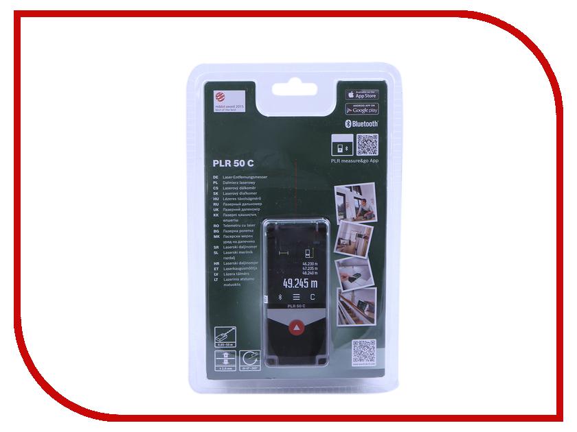 Дальномер Bosch PLR 50 C 0603672220 лазерный дальномер bosch plr 50 c