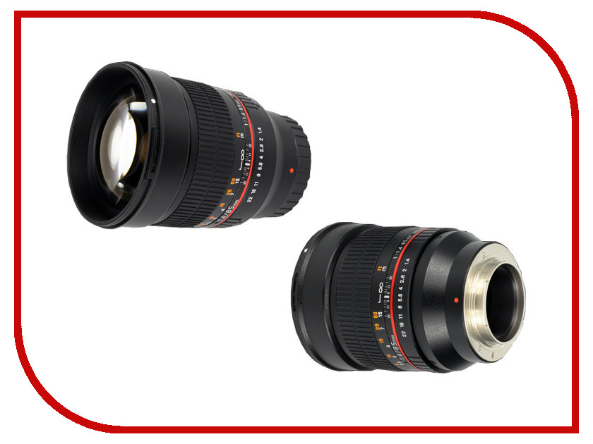 Объектив Samyang Samsung NX 85 mm F/1.4 AS IF UMC