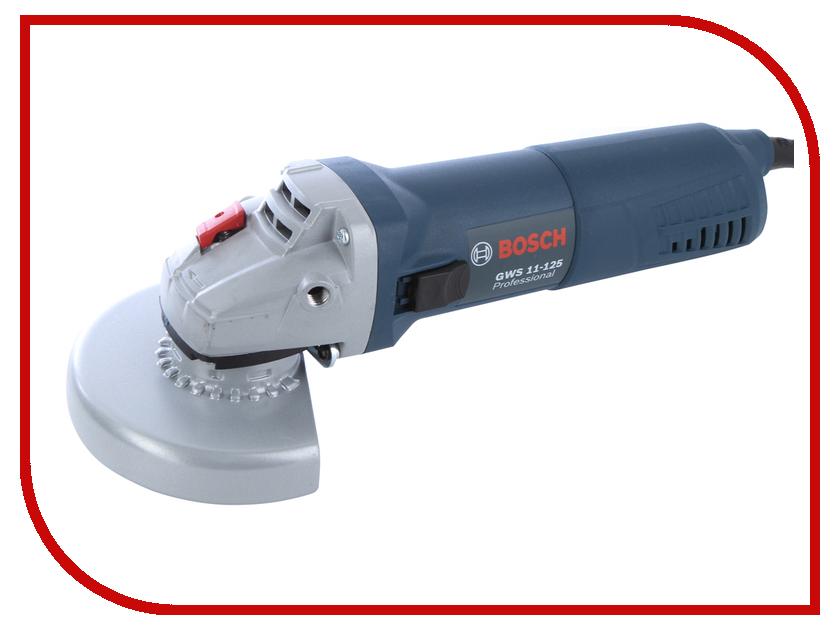 Шлифовальная машина Bosch GWS 11-125 Professional 06017920R0 угловая шлифовальная машина bosch gws 20 230 h 0 601 850 107