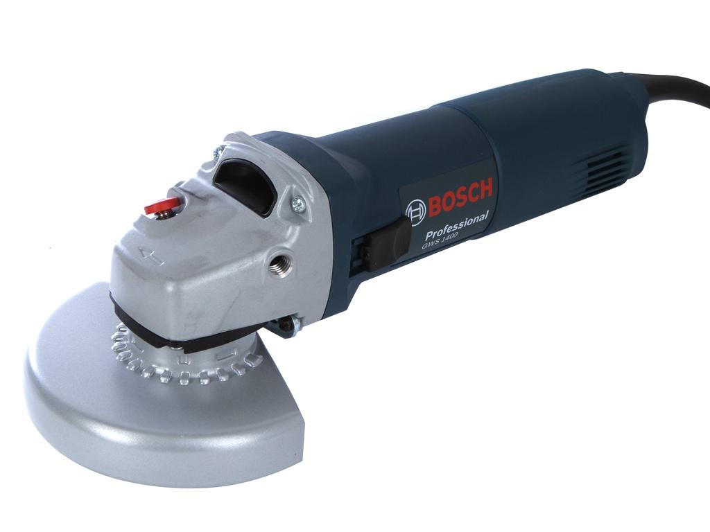 Шлифовальная машина Bosch GWS 1400 Professional болгарка bosch gws 1400
