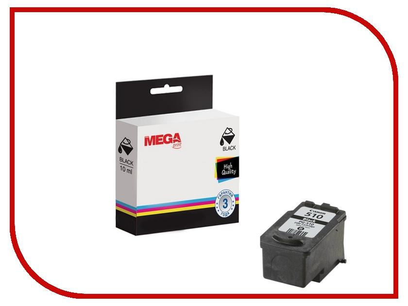 Картридж ProMega Print PG-510 2970B007 для Canon Black<br>