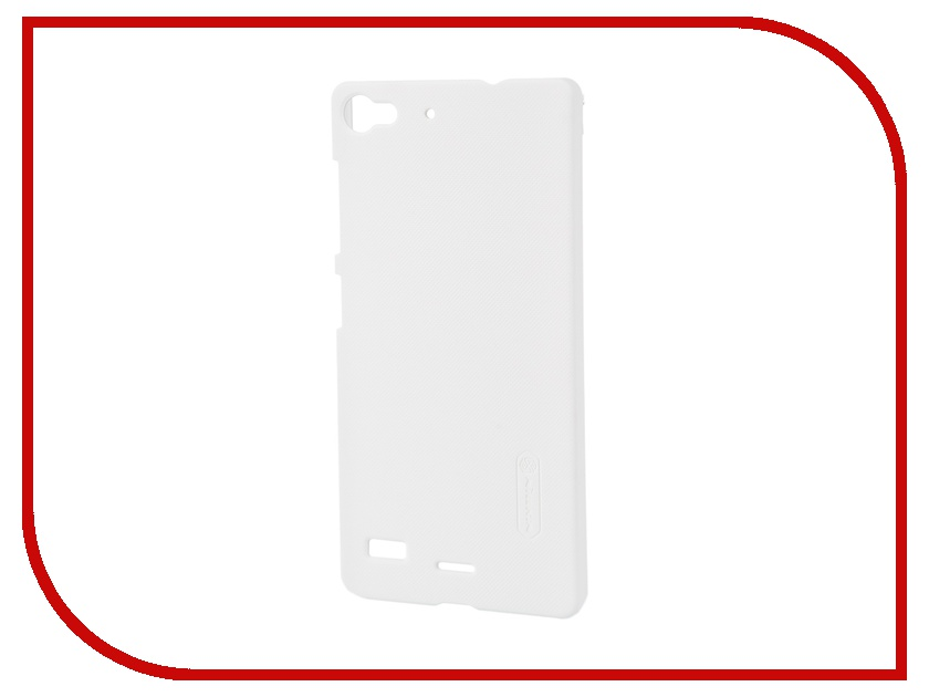 Аксессуар Чехол Lenovo Vibe X2 Nillkin Frosted Shield White<br>