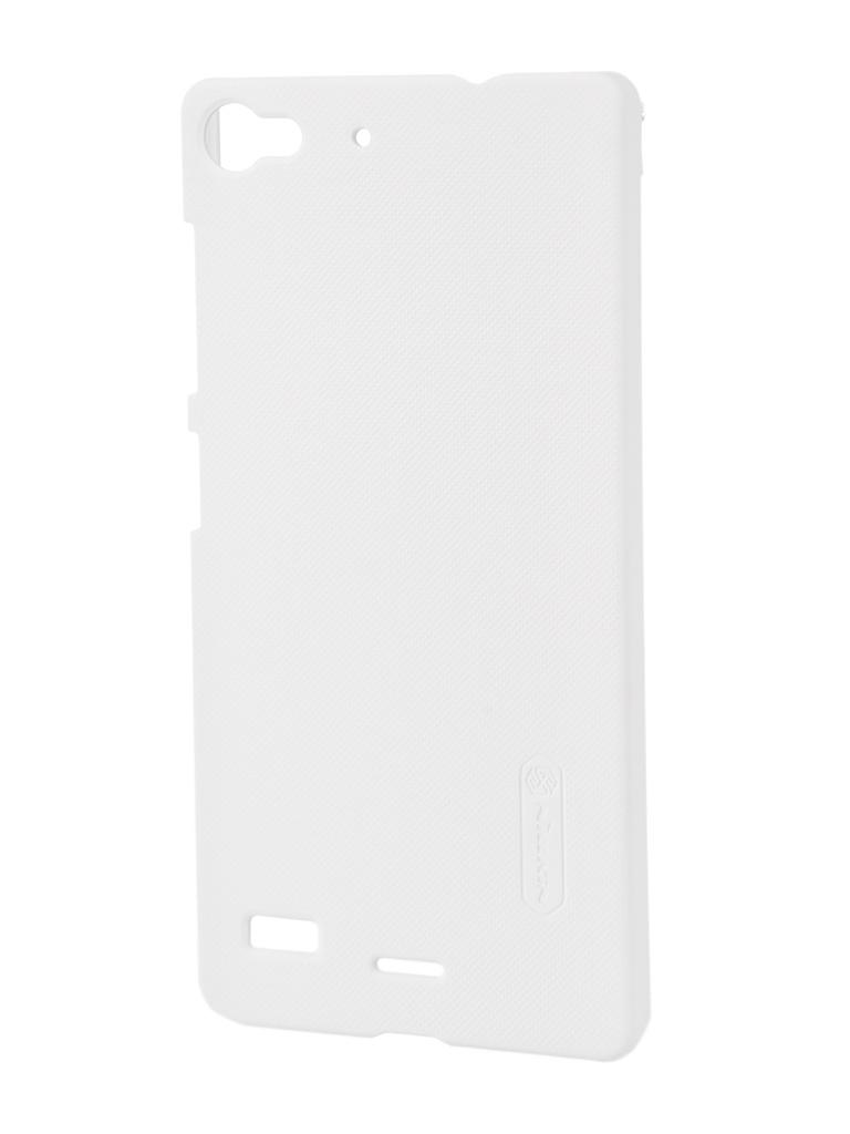 Аксессуар Чехол Lenovo Vibe X2 Nillkin Super Frosted Shield White<br>