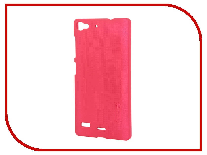 ��������� ����� Lenovo Vibe X2 Nillkin Frosted Shield Red