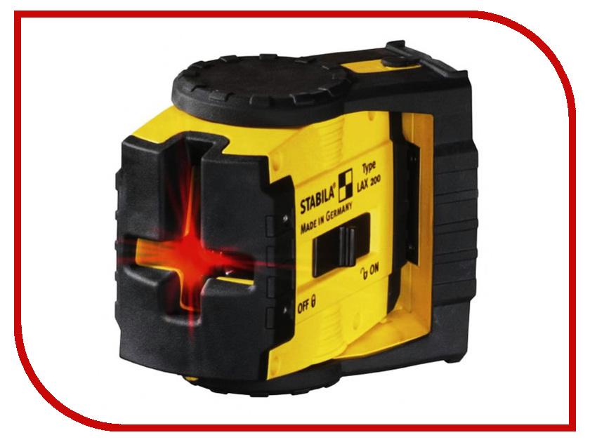 Нивелир STABILA LAX 200 Set 17282  уровень нивелир лазерный lax 50 – штатив 10 м stabila стандарт