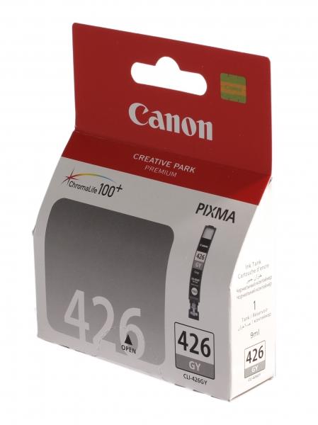 Картридж Canon CLI-426GY Grey для Pixma MG6140/MG8140 4560B001