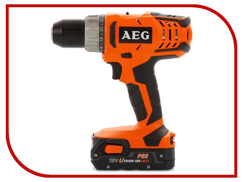 Электроинструмент AEG BS 18G2 Li-152C 433950