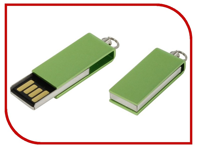 USB Flash Drive 8Gb - Iconik Свивел for Your Logo Green MT-SWG-8GB