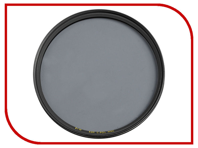Светофильтр B+W F-Pro Kaesemann High Transmission Circular Polarizer MRC 72mm (1081901)<br>