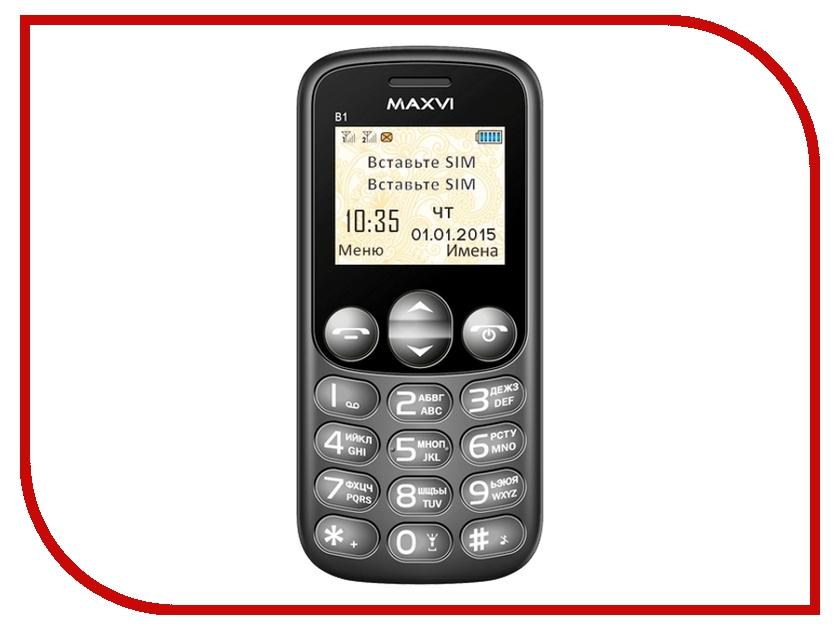 Сотовый телефон Maxvi B1 Black