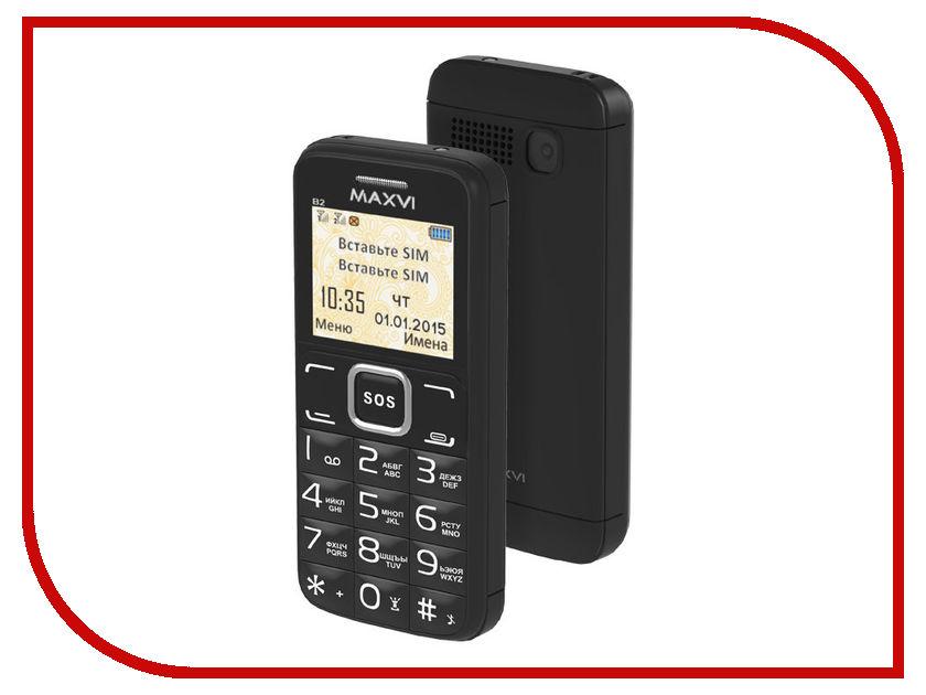 Сотовый телефон Maxvi B2 Black сотовый телефон maxvi c20 black