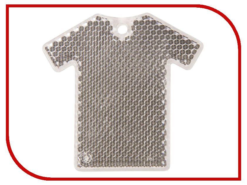Светоотражатель Cova Подвеска-катафот Футболка Transparent 64x62x5mm 333-038<br>